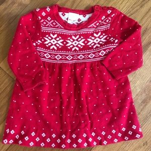 Hanna Andersson holiday sweater dress